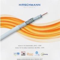 Hirschmann Koka 9 TS 4G LTE Proof Coaxkabel voor CAI en Satelliet 20 meter