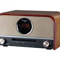Soundmaster NR850 Nostalgie Stereo DAB+ Radio met CD en Bluetooth